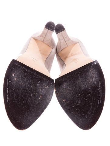 Luisa Peep-Toe Booties