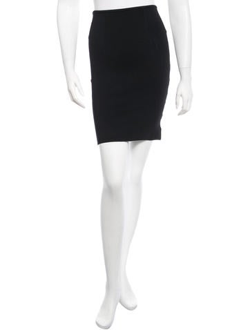 Alexander Wang Rib Knit Skirt None