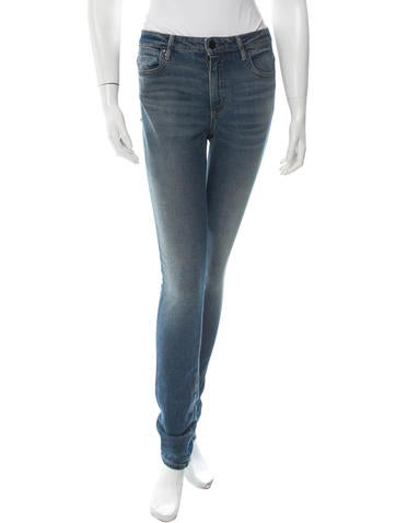 High-Rise Jeans w/ Tags