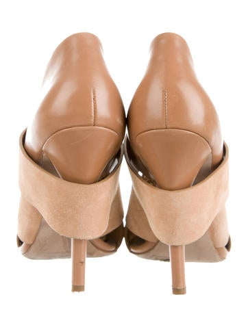Pointed-Toe Lace-Up Booties
