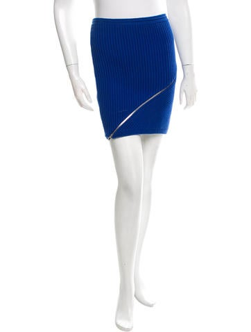 Alexander Wang Knit Mini Skirt w/ Tags None