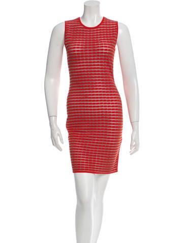 Alexander Wang Patterned Knit Dress None