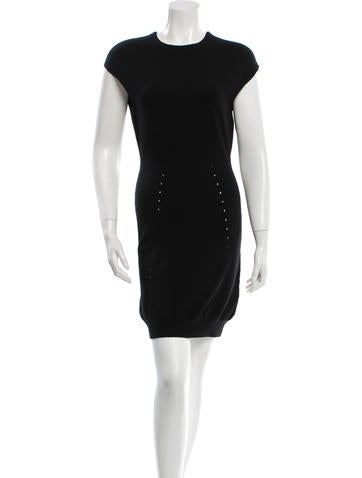 Alexander Wang Wool Bodycon Dress None