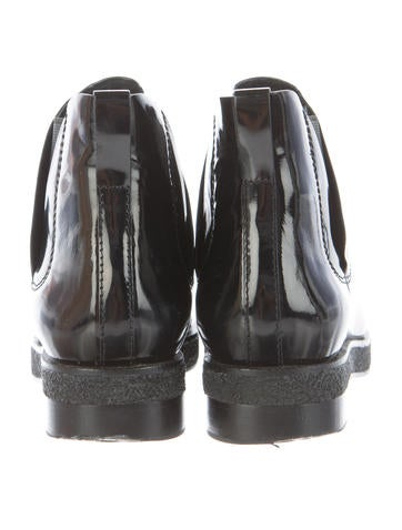 Patent Dewi Ankle Boots