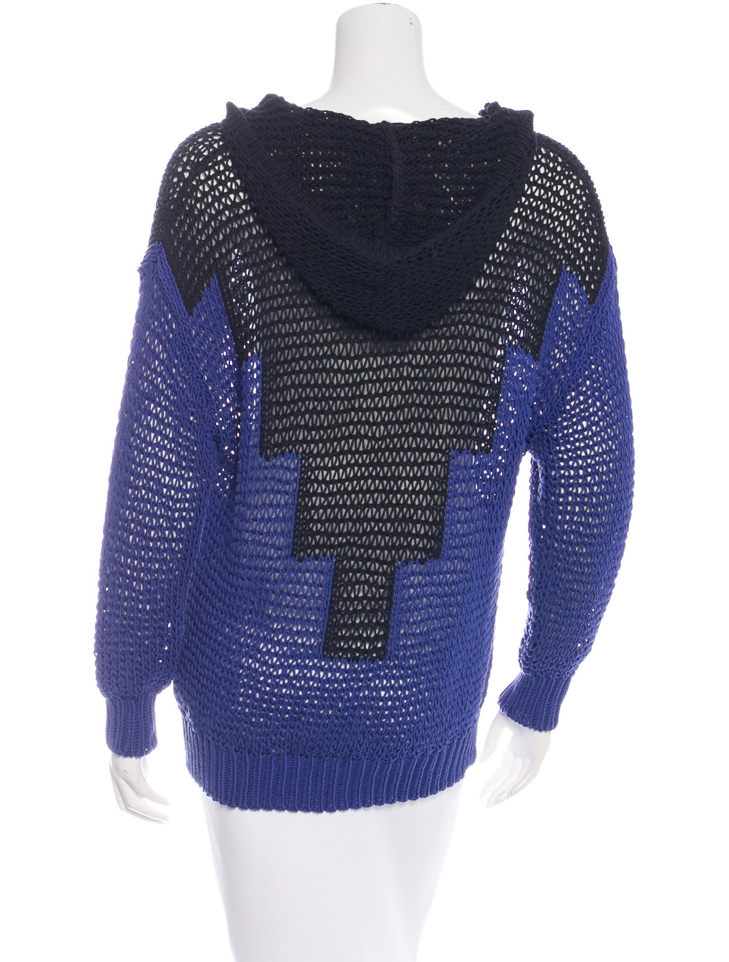 Open Knit Sweater Pattern : Alexander Wang Open-Knit Oversize Sweater - Clothing ...