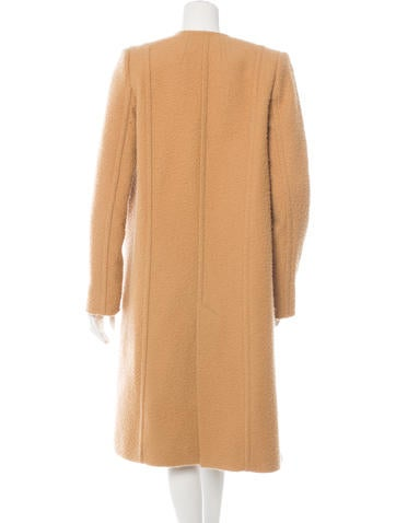 Wool-Blend Oversize Coat