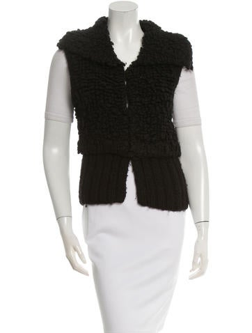 Alexander Wang Textured V-Neck Vest None