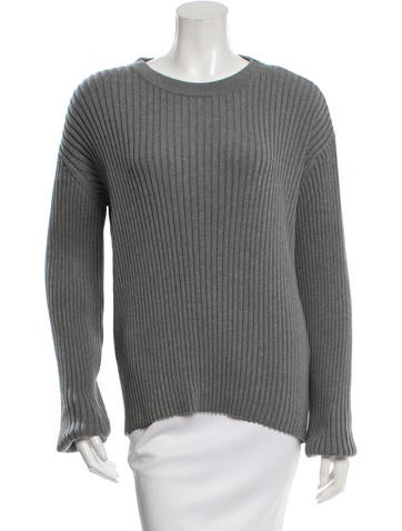 Alexander Wang Crew Neck Rib Knit Sweater w/ Tags None