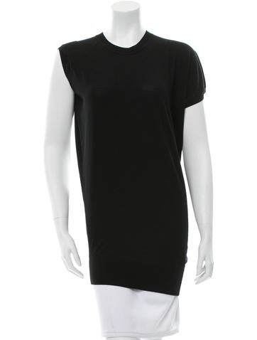 Alexander Wang Asymmetrical Wool Tunic None