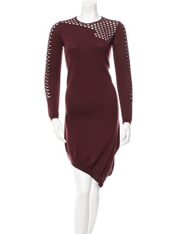 Alexander Wang Merino Wool Sweater Dress None