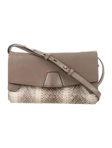 Alexander Wang Leather & Python Crossbody