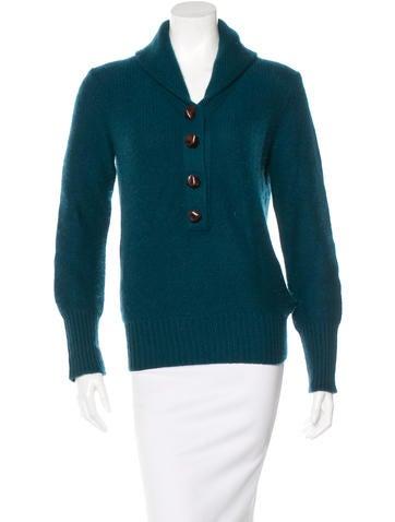 Alexander Wang Cashmere Long Sleeve Sweater None