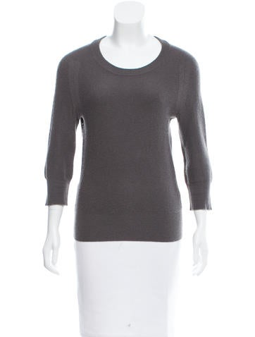 Alexander Wang Cashmere Three-Quarter Sleeve Sweater None