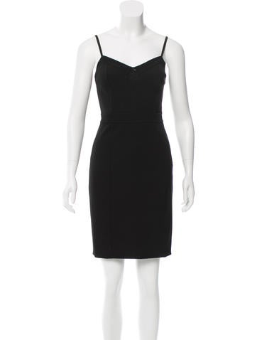 Alexander Wang Mini Bodycon Dress None