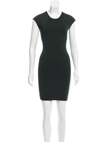 Alexander Wang Sleeveless Bodycon Dress None
