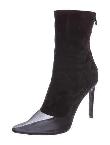 Cameron Cap-Toe Ankle Boots