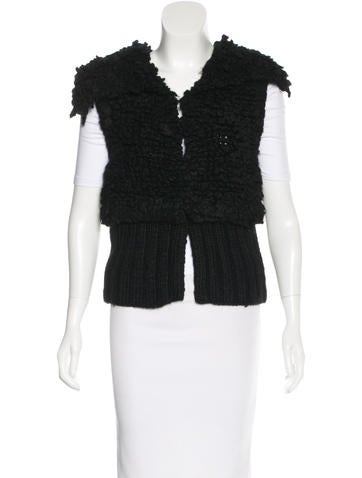 Alexander Wang Cable Knit Sweater Vest None