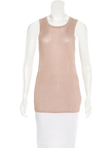 Alexander Wang Sleeveless Knit Top None