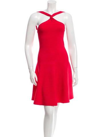 Alexander Wang Rib Knit Flared Dress None