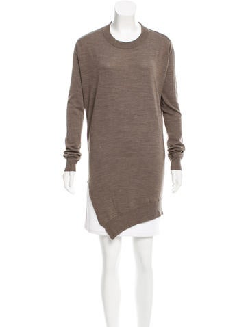 Alexander Wang Wool Cutout Sweater None