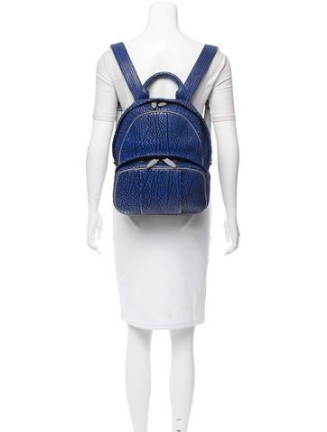 Leather Dumbo Backpack