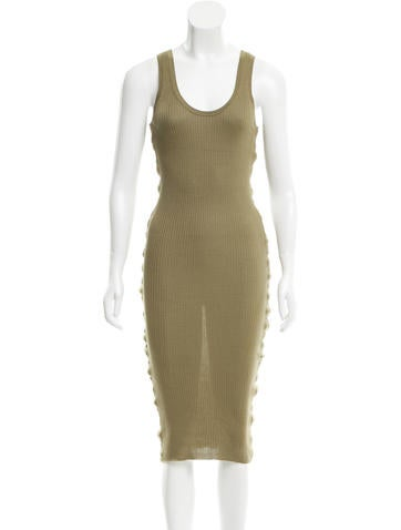 Alexander Wang Bodycon Midi Dress None