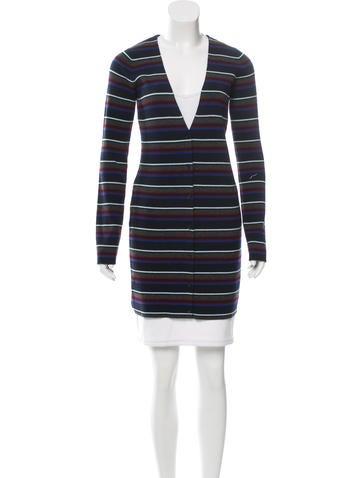 Alexander Wang Wool Rib Knit Cardigan None