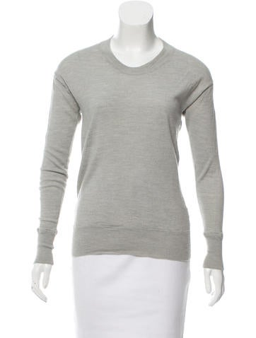 Alexander Wang Cutout Crew Neck Sweater None