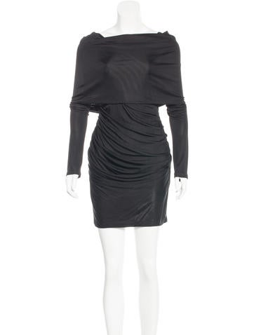Alexander Wang Long Sleeve Ruched Dress None