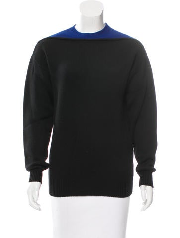 Alexander Wang Colorblock Crew Neck Sweater None