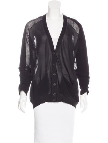 Alexander Wang Knit Button-Up Cardigan None