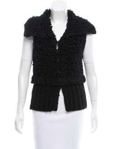 Alexander Wang Textured Wool Vest None