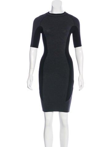 Alexander Wang Wool Mini Dress None