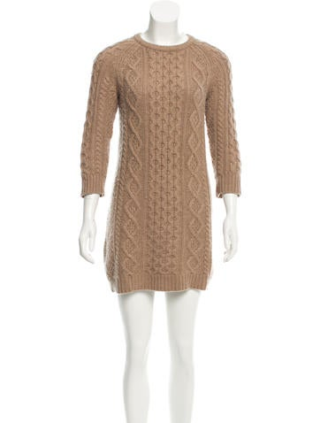 Alexander Wang Cashmere Sweater Dress None