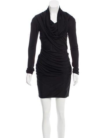 Alexander Wang Long Sleeve Mini Dress None