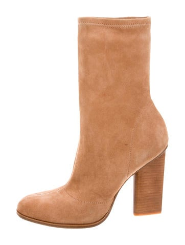 Alexander Wang Gia Suede Ankle Boots