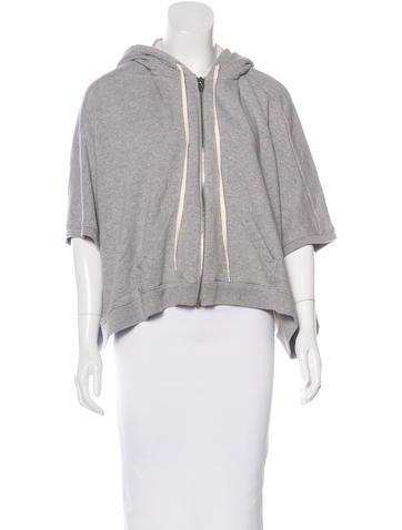 Alexander Wang Dolman Hooded Sweatshirt