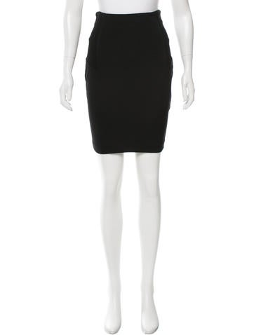 Alexander Wang Ribbed Panel Mini Skirt None
