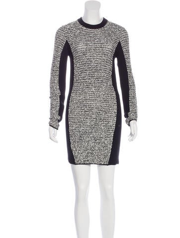 Alexander Wang Wool Sheath Dress None