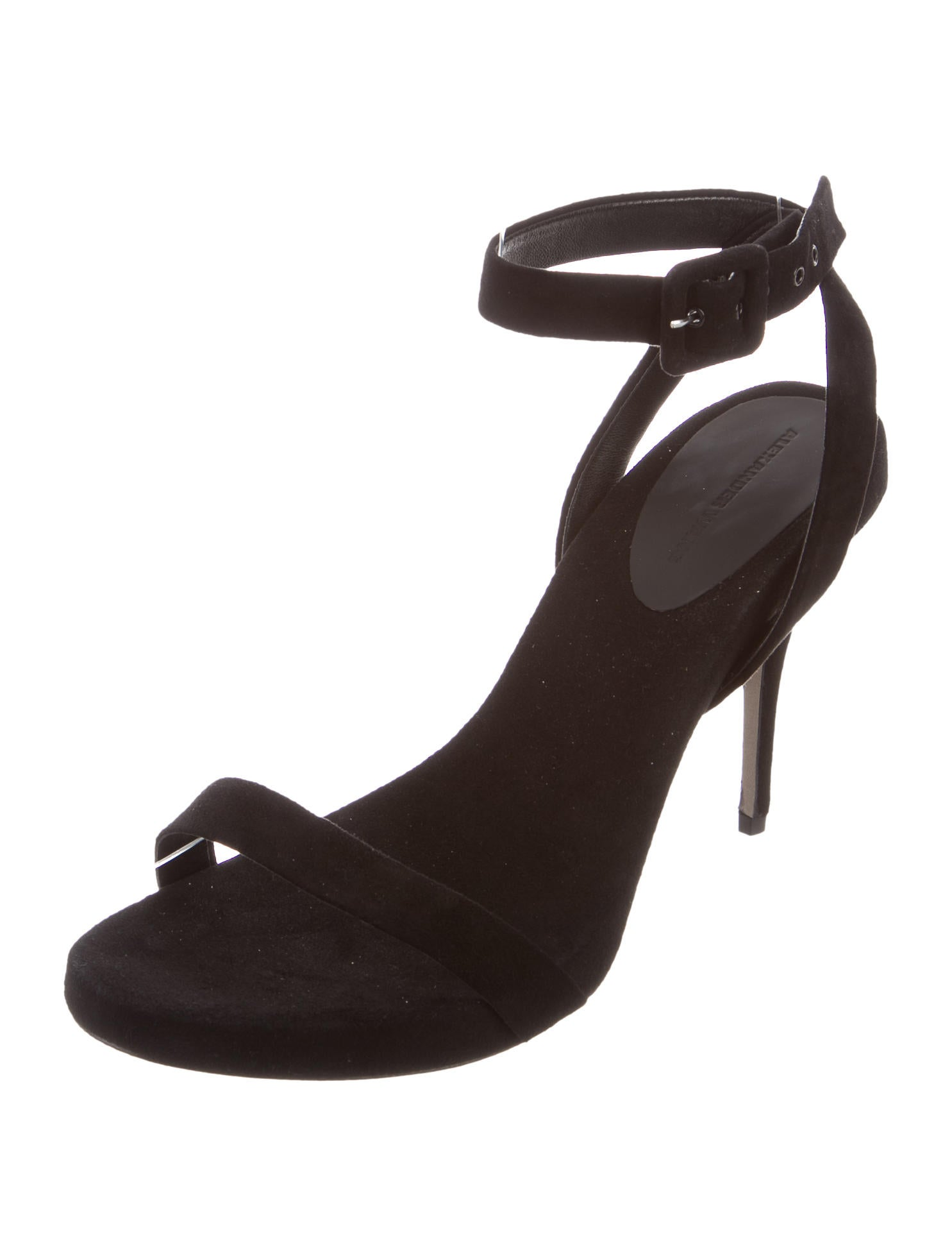 3871ad30ee3 Alexander Wang Suede Ankle Strap Sandals - Shoes .