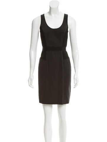 Alexander Wang Cutout-Back Sleeveless Dress None