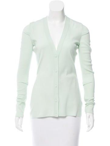Alexander Wang Wool Button-Up Cardigan None