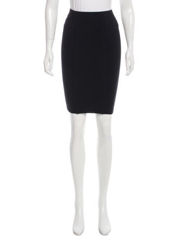 Alexander Wang Wool Pencil Skirt None