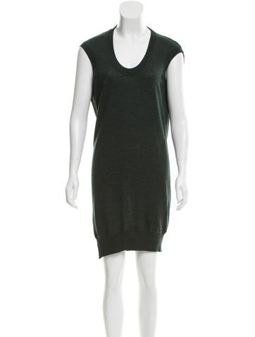 Alexander Wang Wool Cutout Dress None