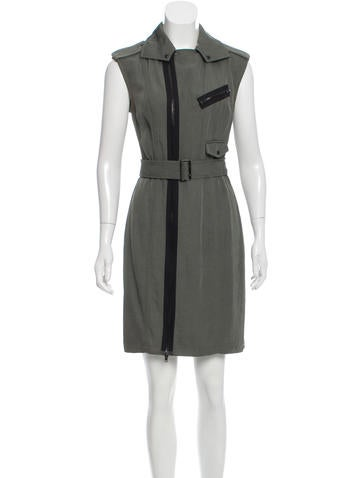 Alexander Wang Belted Sheath Dress None