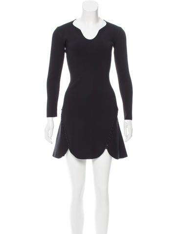 Alexander Wang Matrix Lace-Up Dress w/ Tags None