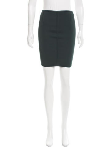 Alexander Wang Mini Pencil Skirt None