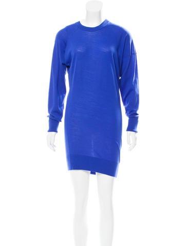 Alexander Wang Asymmetrical Mini Dress None
