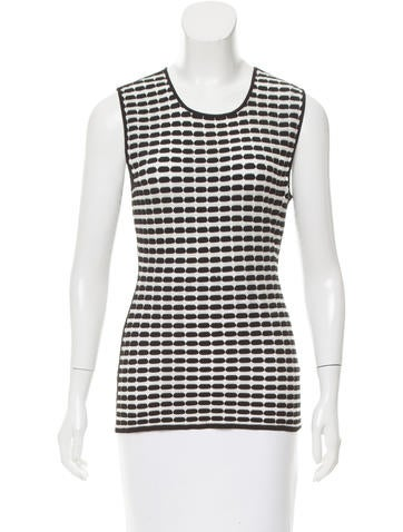 Alexander Wang Patterned Knit Top None