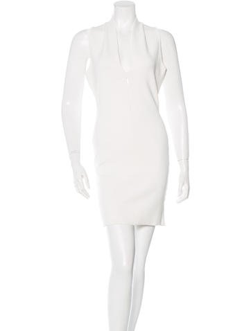 Alexander Wang Knit Sheath Dress None